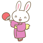 ウサギの盆踊り