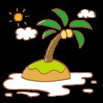 南国の小島