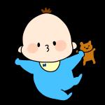 ご機嫌な赤ちゃん