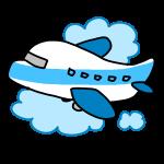飛行機で旅行