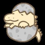 恐竜の赤ちゃん(黄)