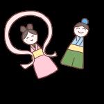 織姫と彦星の飾り
