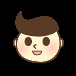 男の子の顔