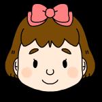 女の子のふつうの顔