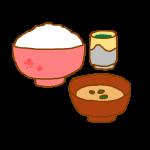 ごはんと味噌汁