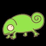 カメレオン(緑)
