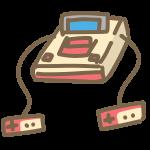 レトロなテレビゲーム機