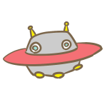 UFO(赤)
