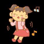 ダンスをする女の子
