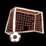 サッカーゴールとボール