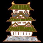 和風のお城