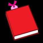 しおりがはさまった本