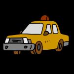 タクシー黄