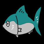 魚のイラスト かわいいフリー素材が無料のイラストレイン