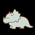 トリケラトプス(笑顔)