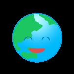 笑顔の地球