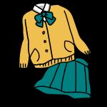 私学の制服