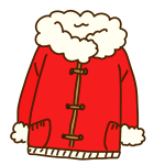 赤いコート