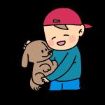 少年と犬1
