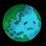 弱った地球